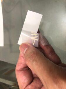 少量轉印貼紙 白墨